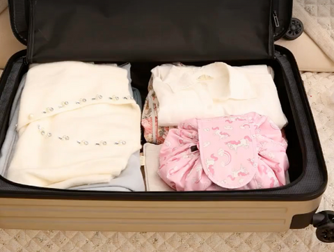 Fit perfectly in to a suitcase