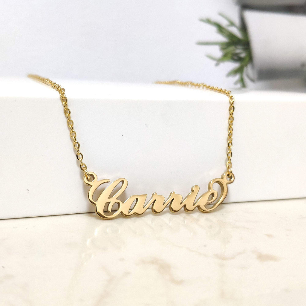 Custom Name Goddess Necklace Whitecrate Exclusive