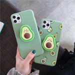 Cute Fruit Silicone Phone Case Whitecrate Shop