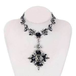 Fire Polished Crystal Choker Whitecrate Exclusive