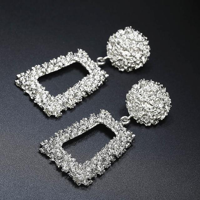 Geometric Goddess Statement Earrings Whitecrate Exclusive