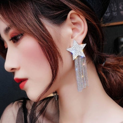 Wish Upon a Star Earrings Whitecrate Exclusive
