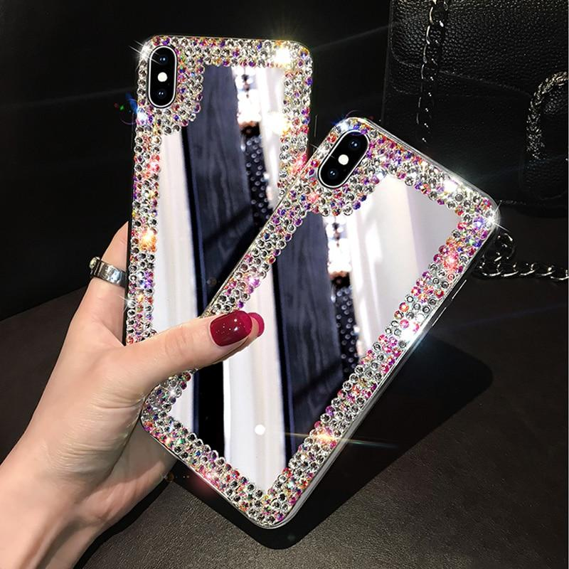iPhone Diamond Mirror Case Whitecrate Shop