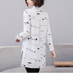 Casual Large Size Long-Sleeved T-Shirt
