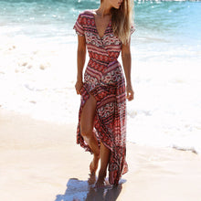Bohemia Beach Sunscreen Vacation Dress