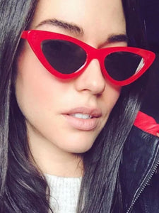 Retro Triangle Cat Eyes Sunglasses