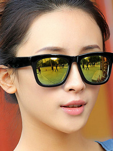 Plain UV Large Frame Sunglasses Sunglasses