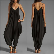 Low Chest V Collar Sexy Jumpsuit