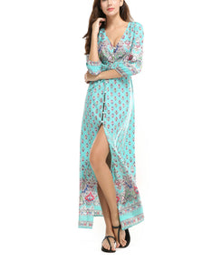 Bohemia Style Fashion Vacation Dress
