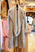Long Shawl Coat In Shawl Cardigan