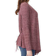 Baggy Long-Sleeved Sweater Cardigan