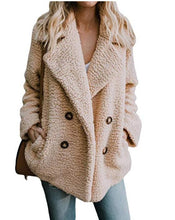 Plush Button Lapels Cardigan