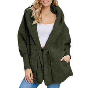 Pocket Fur - Proof Plush Hooded Coat