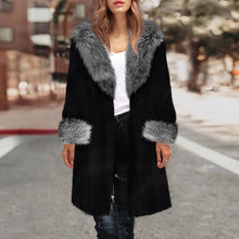 Winter Warm Fox Fur Overcoat Fashion Outwear