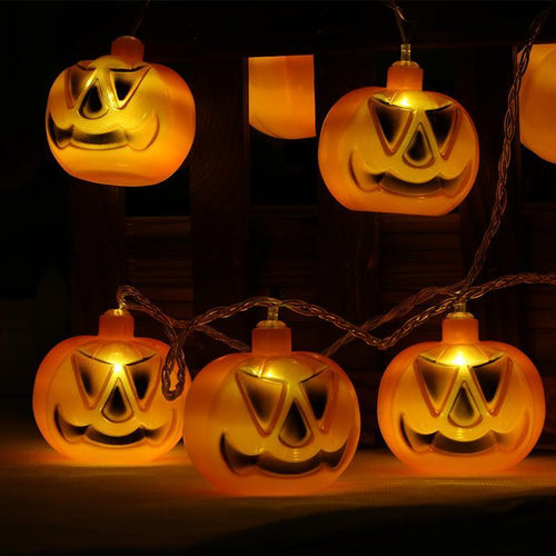 Halloween Pumpkin Led Light Decoration Prop