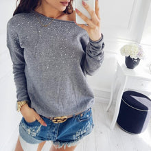 An Off-The-Shoulder T-Shirt