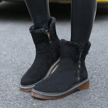 Leisure Low Tube Flat Snow Boots