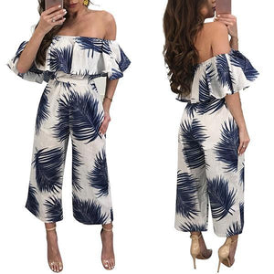 Bra Top Nine Wide Leg Jumpsuit