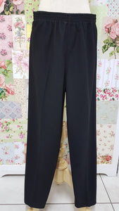 Black Rib Pants SAM009