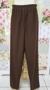 Brown Rib Pants SAM044