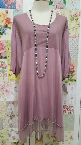 Dusty Pink Top LR098