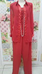 Red 3-Piece Piece Set BS051