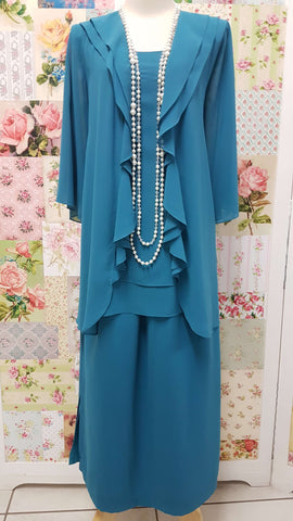 Petrol Blue 3-Piece NG009