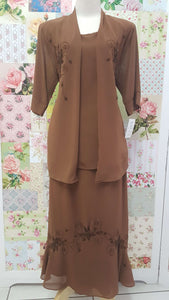 Brown 2-Piece BT044