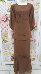 Chocolate Brown 2-Piece VI023