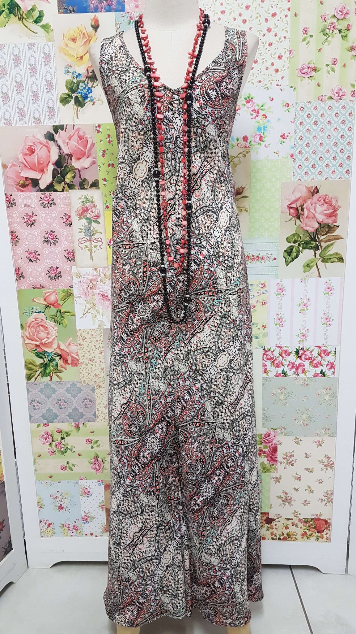 Multi Color Printed Dress MY050