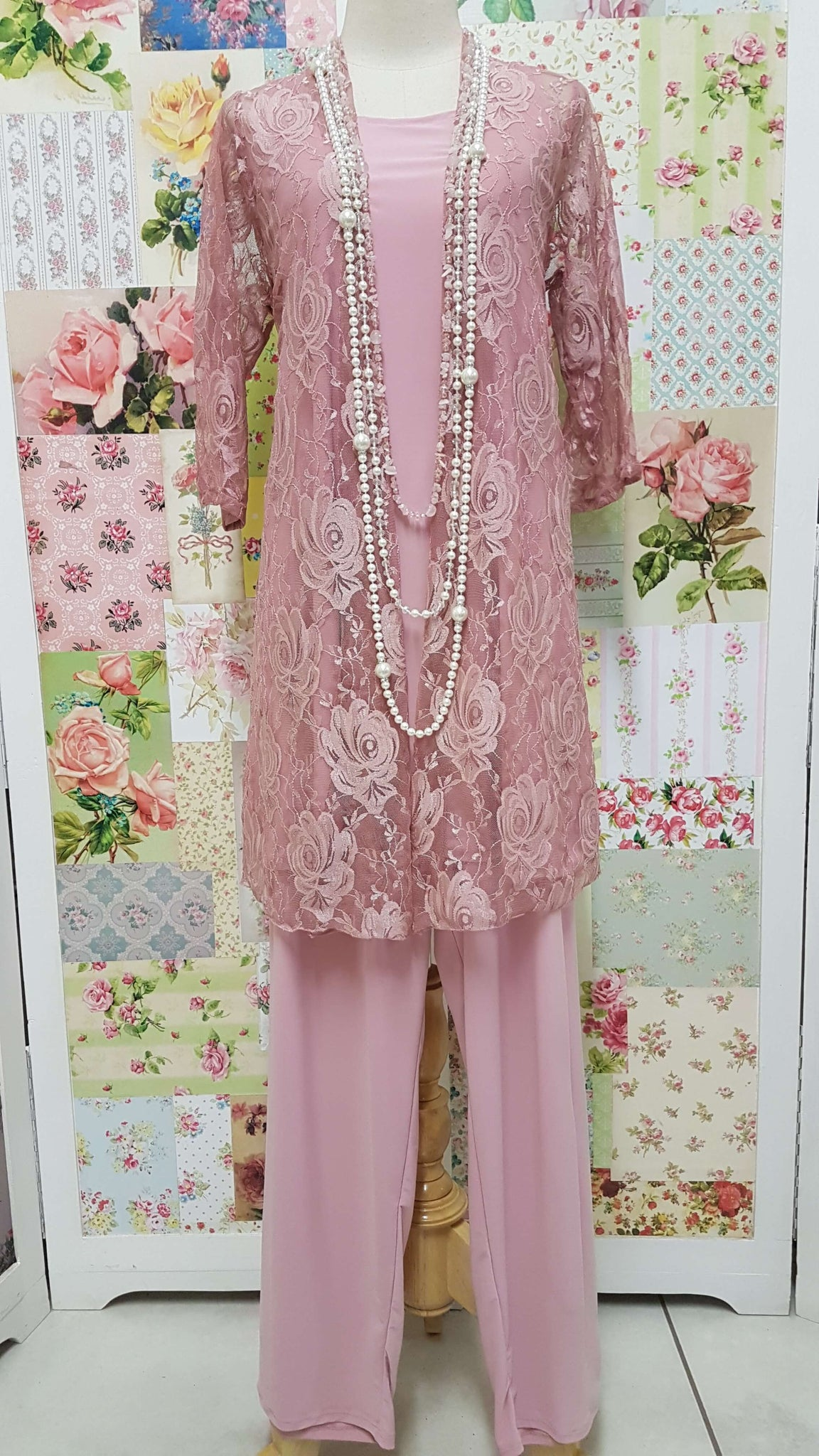 Dusty Pink 3-Piece JS045
