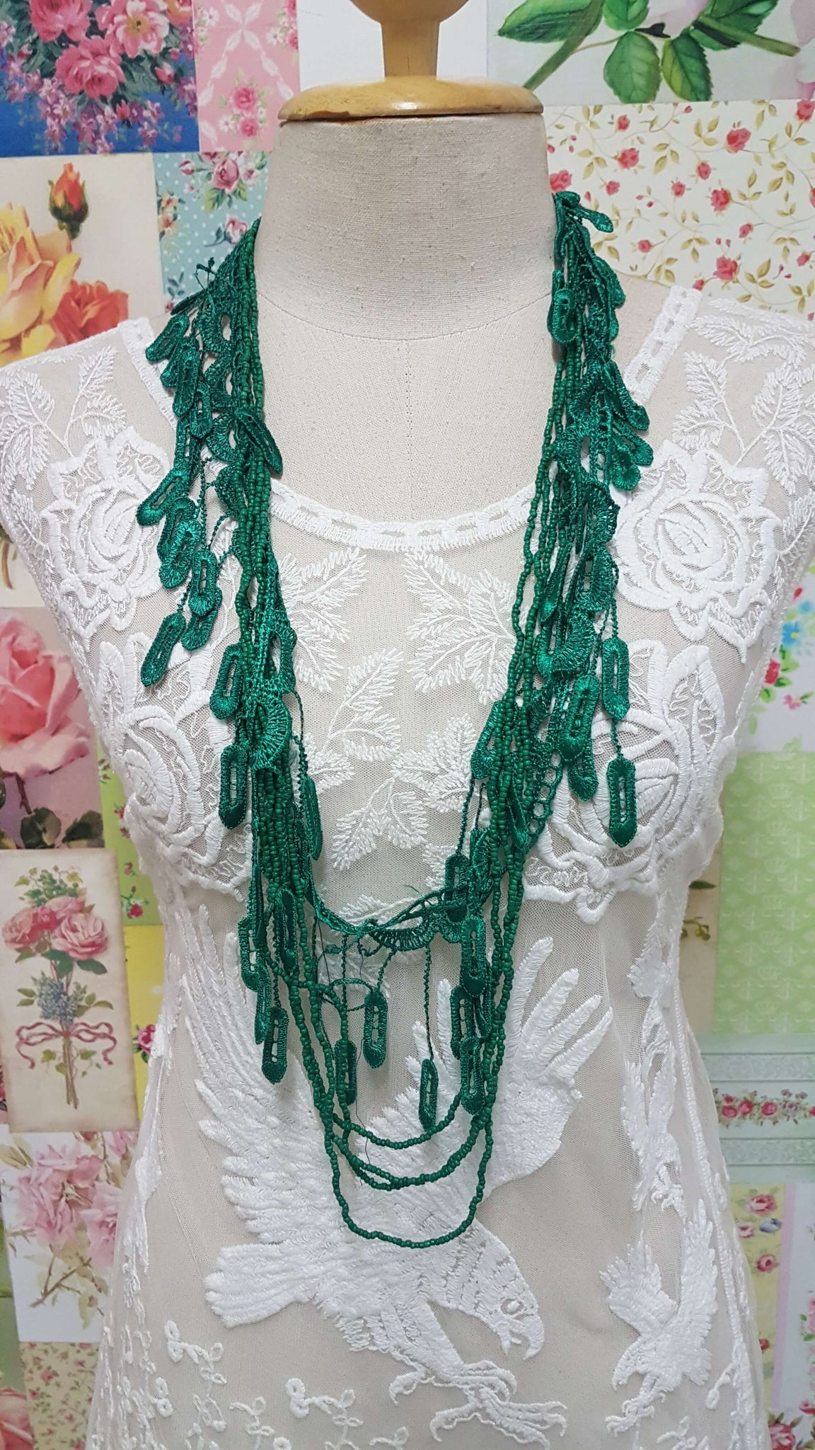 Green Necklace JU010