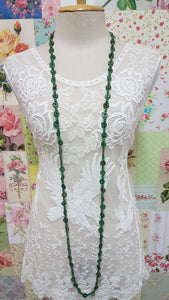 Green Necklace JU041