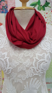 Maroon Snood SE089