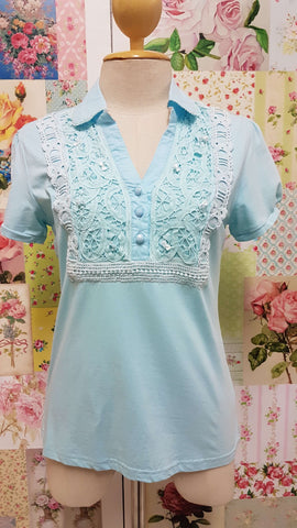 Soft Aqua Top BK0122