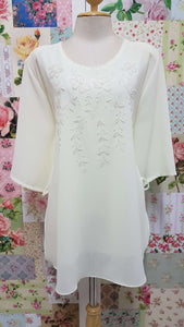 Cream Top BK0110