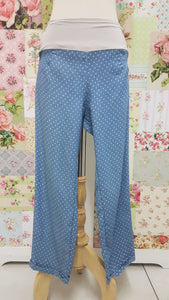 3/4 Blue Pants BE076