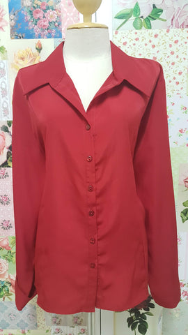 Red Blouse BU048