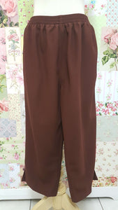 3/4 Brown Pants BK0341