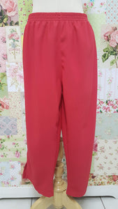 3/4 Red Pants BK0346