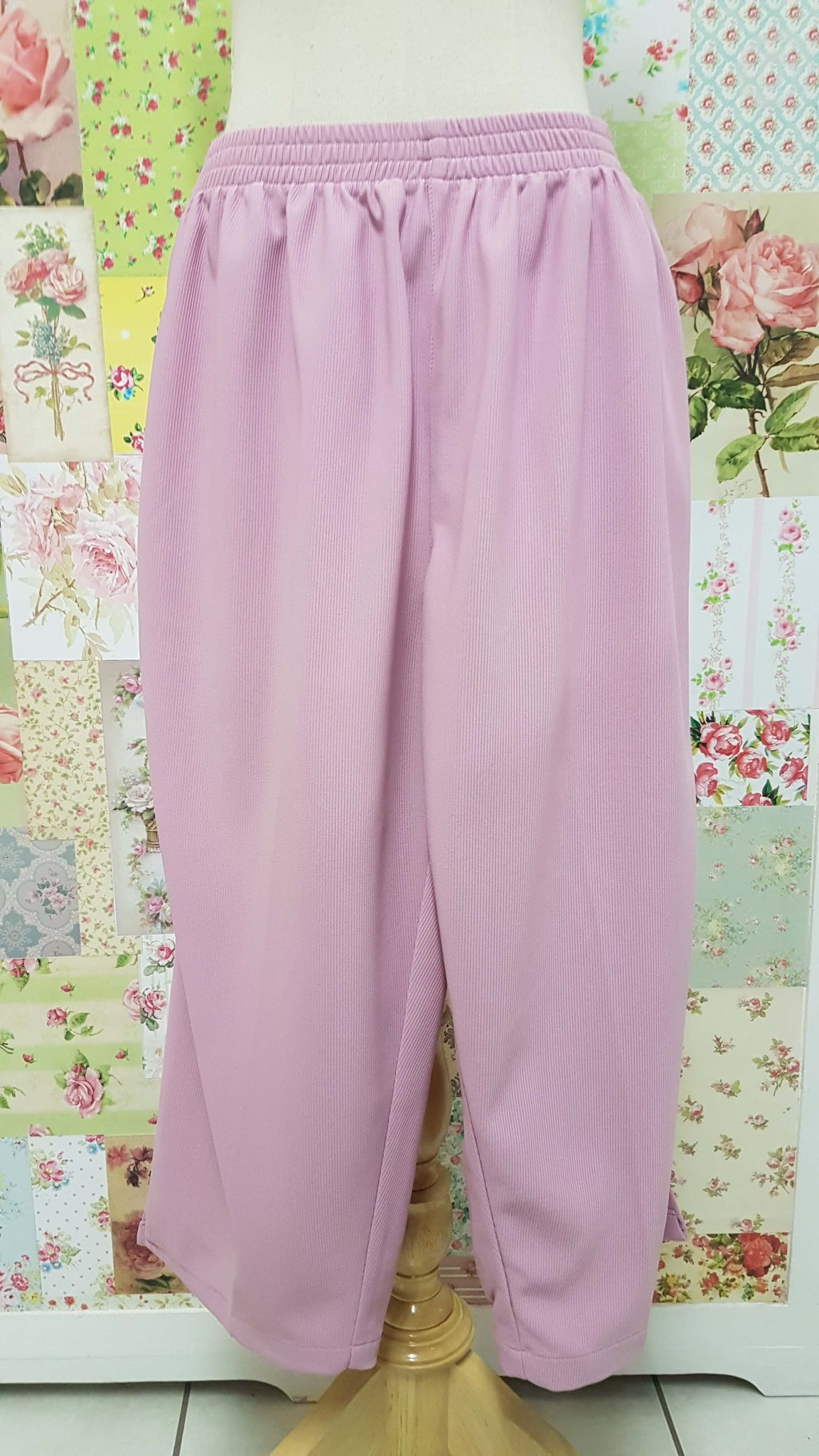 3/4 Soft Pink Pants BK0350
