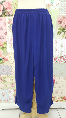 3/4 Royal Blue Pants BK0401
