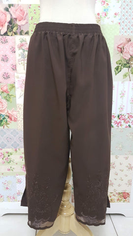 3/4 Brown Pants BK0360