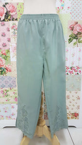3/4 Mint Green Pants BK0365