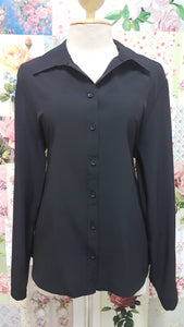 Black Blouse BU038