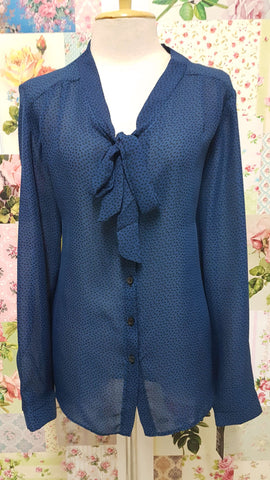 Petrol Blue Blouse BT0108