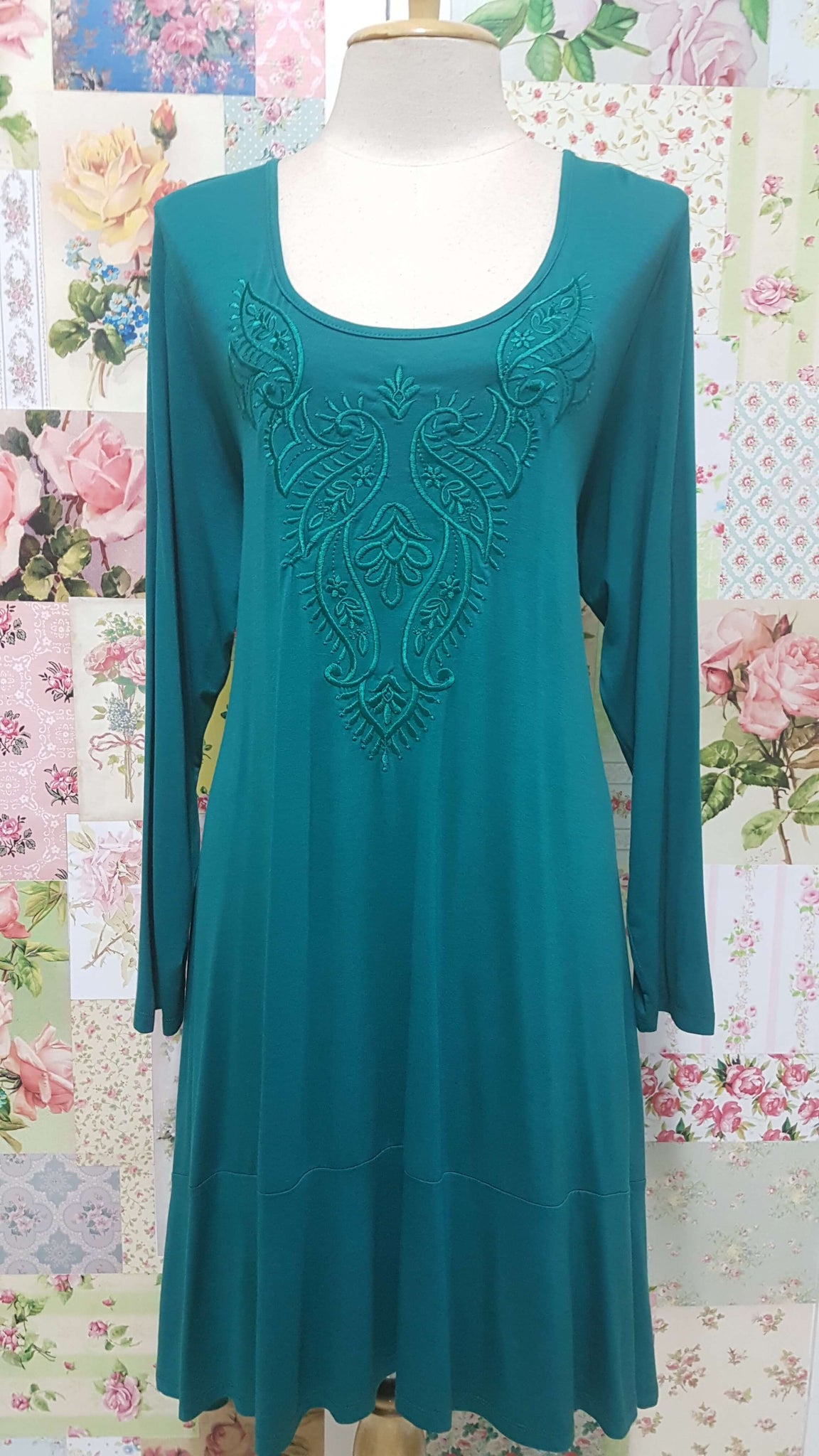 Emerald Green Top MY014