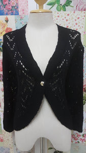 Black Knitted Top BK0198