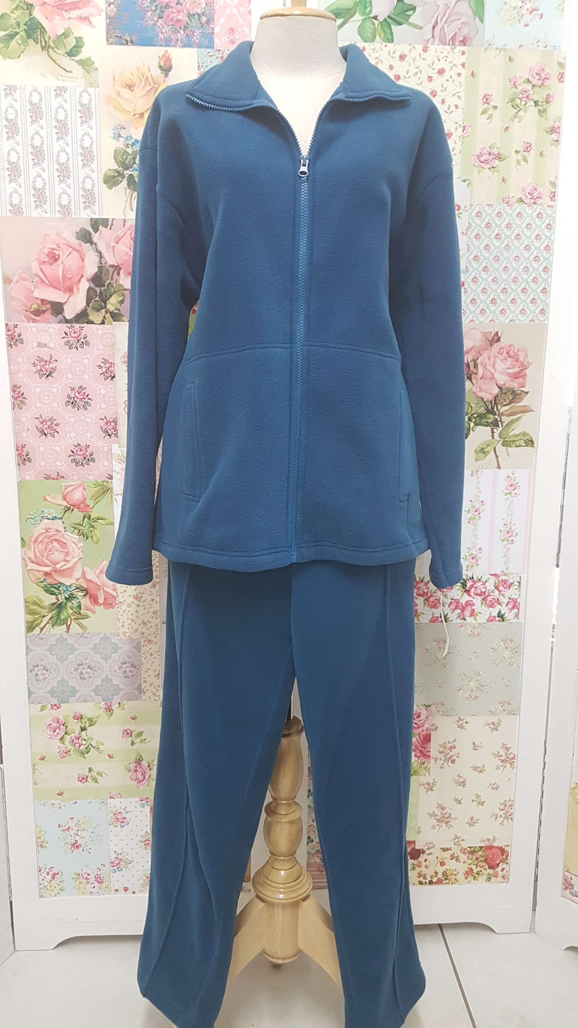 Teal Track Suit VC041