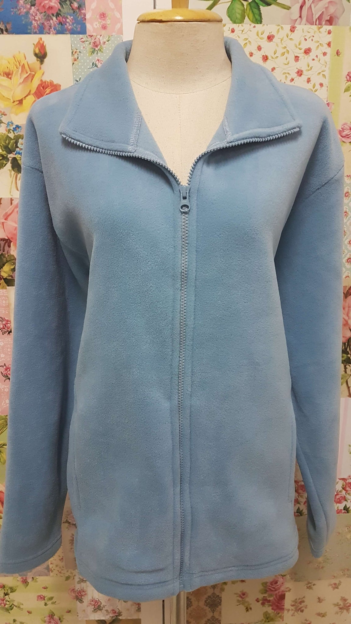 Light Blue Fleece Jacket VC034
